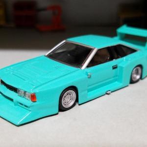 日産 S110 シルビア ハッチバック 1979年式 街道レーサー仕様 (アオシマ)