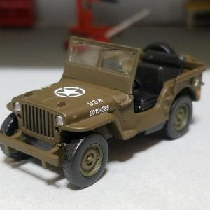 Jeep Willys MB (京商CVSミニカー)
