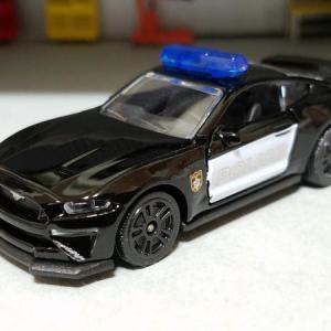 2018 Ford MUSTANG GT POLICE CAR (MAJORETTE)