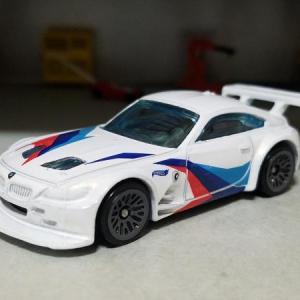 BMW E86 Z4M GT3 MOTORSPORT (Hot WHeels)