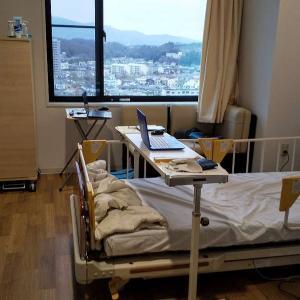 入院中・・