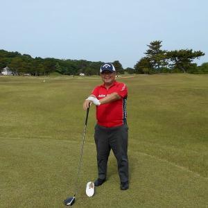 R15 誕生日 ゴルフは ニューボールで! at ヘレナ国際