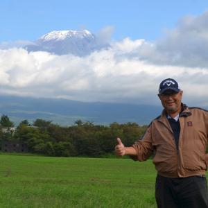 富士山でプレーしたいなぁ・・
