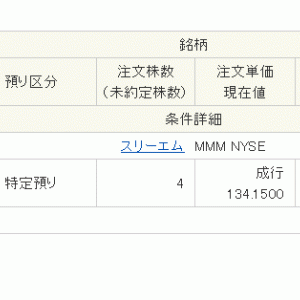 MMM購入&15万円入金