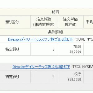 もう10万円入金 CURE & TECL購入