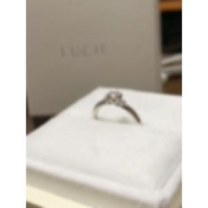 *待ちに待った婚約指輪*