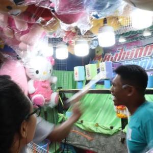 タイのお祭りでのゲーム色々|かかって来なさい!タイランド