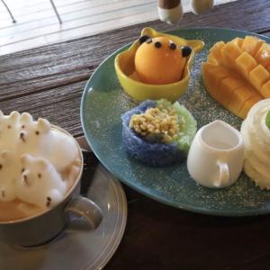 チェンマイ 3Dラテアートが楽しめるカフェ「Bear Hug Cafe」 かかって来なさい!タイランド