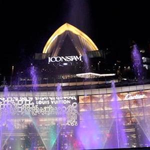 超豪華ショッピングモール 「ICONSIAM」アイコンサイアムの噴水ショー|かかって来なさい!タイランド