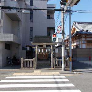 社寺巡礼その975 道祖神社(唐橋)