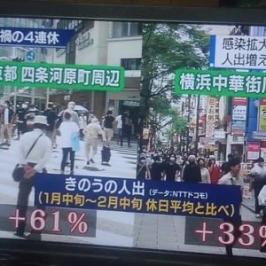 GoToトラベル東京解除で京都がヤバイやん(/≧◇≦\)