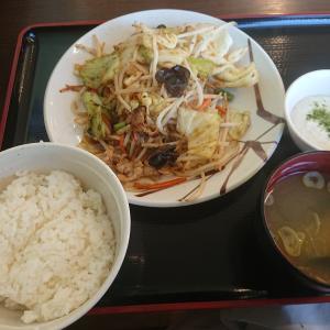 6種野菜の野菜炒め定食(山田うどん食堂)