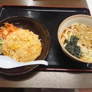 キムチチャーハンセット(山田うどん食堂)