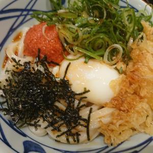 明太釜玉うどん(丸亀製麺)