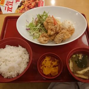 ジョイフル塩唐揚げ定食(Joyfull)