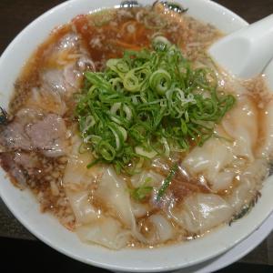 ワンタン麺(来来亭)