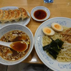 【9月限定】しょうゆつけ麺と餃子(ぎょうざの満州)