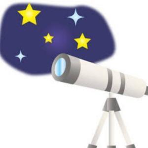 天体観測を初体験した。