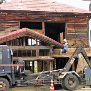 元局の家の解体です