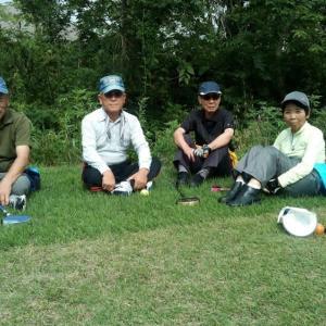 4地区のグランドゴルフ大会