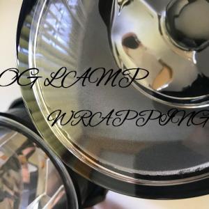 フォグランプに「ヘッドライト カラー プロテクションフィルム」を貼ってみた