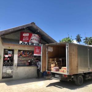 ロックダウン生活 in JUJE Sari2x Store Sanfernando Cebu