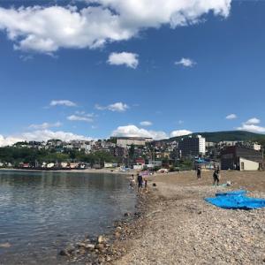 小樽でシーグラス探しと石狩でカニ釣って遊べる場所はここだよー。