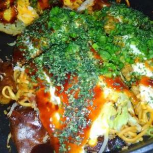 ヘルシー広島焼7号【2】久しぶりに食ってみました
