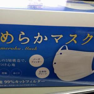 スリムちゃん特製マスク【7】喉に潤いを!冬は乾燥・低温に注意。