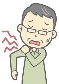 アイタタタタッ!!「五十肩」の治療とリハビリ★その2★石灰の痛み?