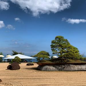 海が一望できる素晴らしい空間、熱海アカオハーブアンドローズガーデン