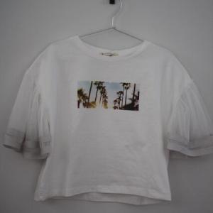 MAJESTIC LEGON(マジェスティックレゴン) チュールTシャツ