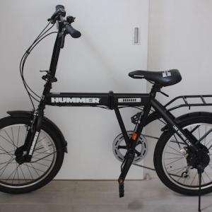 購入品♡HUMMER(ハマー)の折り畳み自転車