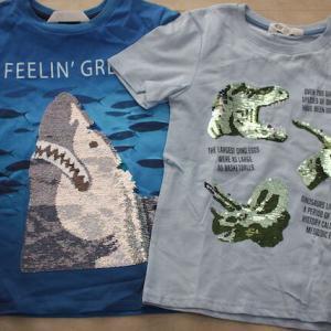 H&Mキッズ♡スパンコールTシャツ