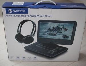Amazon(アマゾン)で購入したポータブルDVDプレーヤー