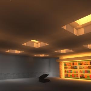 マイクラ建築 デパートの商品棚 マイクラ71