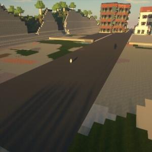マイクラ建築 癒される街並みを目指す マイクラ47