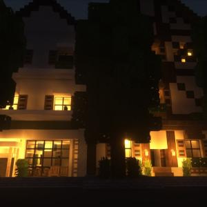 マイクラ建築 癒される街並みを目指す マイクラ57
