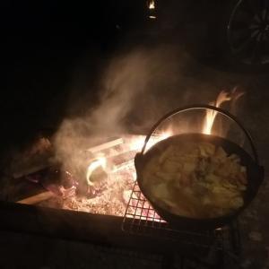 庭キムチ鍋