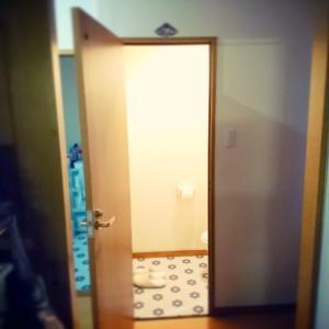 トイレに壁紙
