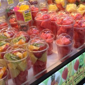 韓国ショッピングクルーズでの食はいたって普通