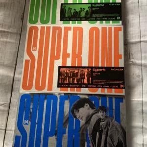 SuperMのCDも届いてましたよ