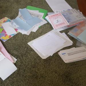 紙ゴミって大変。