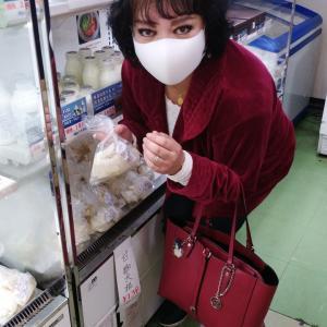咽頭炎治らず。健康食材で体力維持。「津久井湖・花の苑でお買い物」