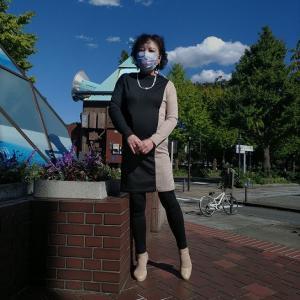 晴れた日の大学病院通院。皮膚科と通院後のグルメ~。