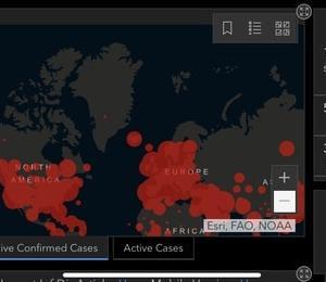 アメリカの感染者が12万人を、イタリアの死者が1万人を超えたらしい