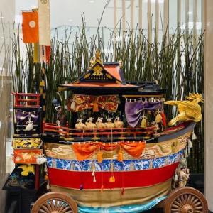 祇園祭 ~ 大丸京都店の山鉾のミニチュア
