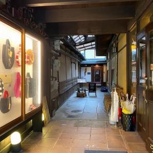 雨模様の日の京都 ~ セカンドハウス &   o・mo・ya  の東洞院店