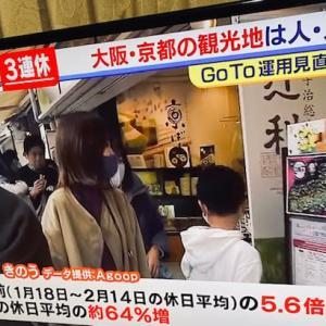 やはり京都の不動産は最強 ? (その2) ~ 三連休・四条河原町の人出・感染拡大前比75%増