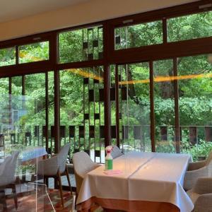 新緑が映えるレストラン 〜 Royal Garden Cafe 青山